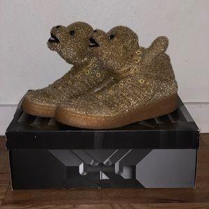 "Jeremy Scott x Adidas Shoes - Adidas Jeremy Scott — ""Bear Tinsel"""